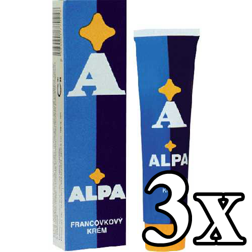 ALPA Embrocation Cream 3x