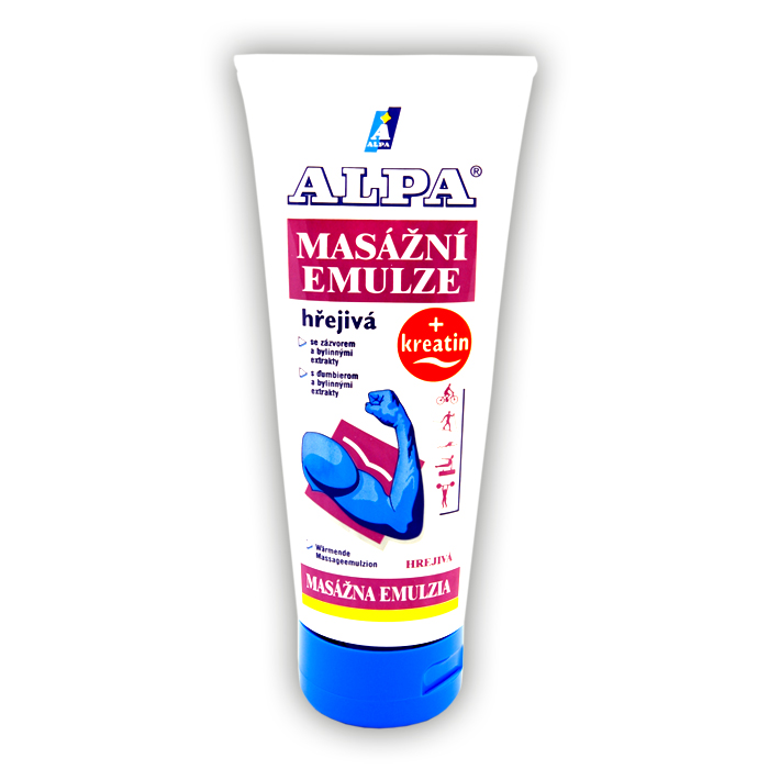 ALPA Massage Emulsion - Warming
