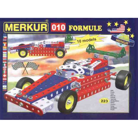 Merkur M 010 Formula Racing Car Set - Construction Toy