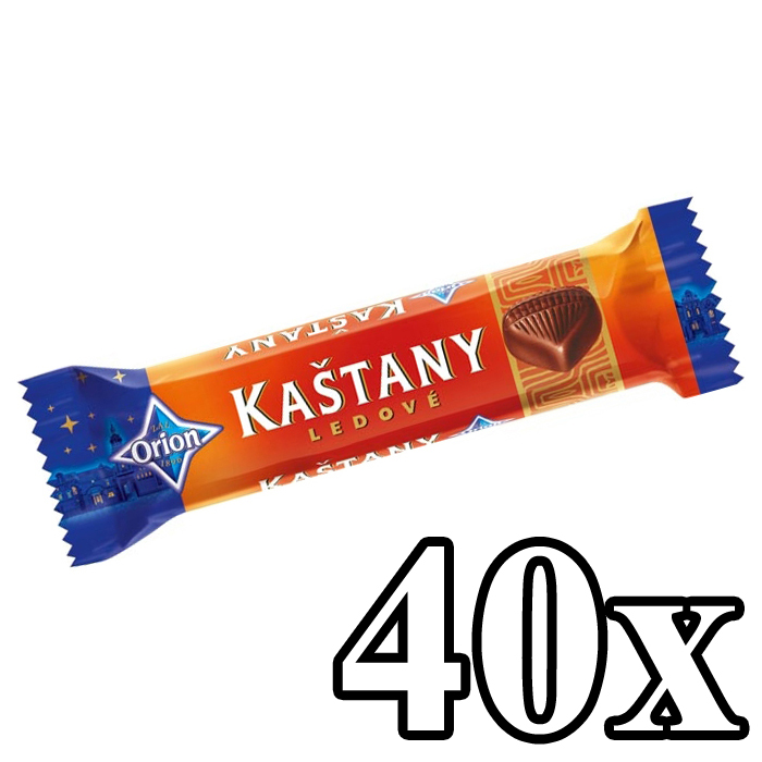 Kastany - Chestnut bar 40x