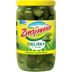 Pickled Gherkins ZNOJMIA