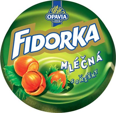 FIDORKA - Milk Chocolate with Hazelnut
