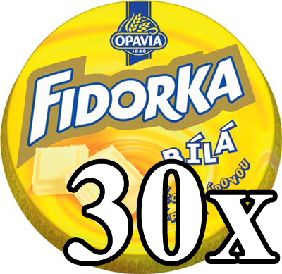 FIDORKA - White Chocolate 30x