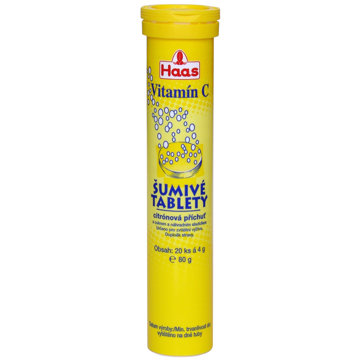 HAAS Sumive  tablety Vitamin C Lemon