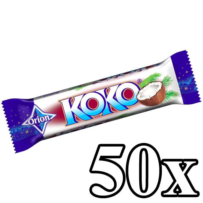 KOKO - Coconut Bar Milk 50x