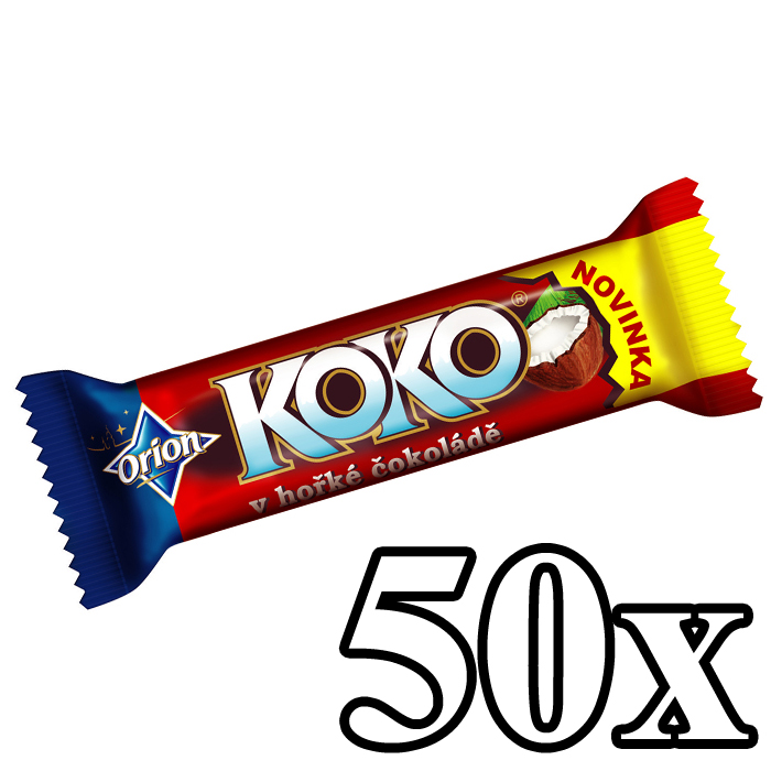 KOKO - Coconut Bar Dark 50x