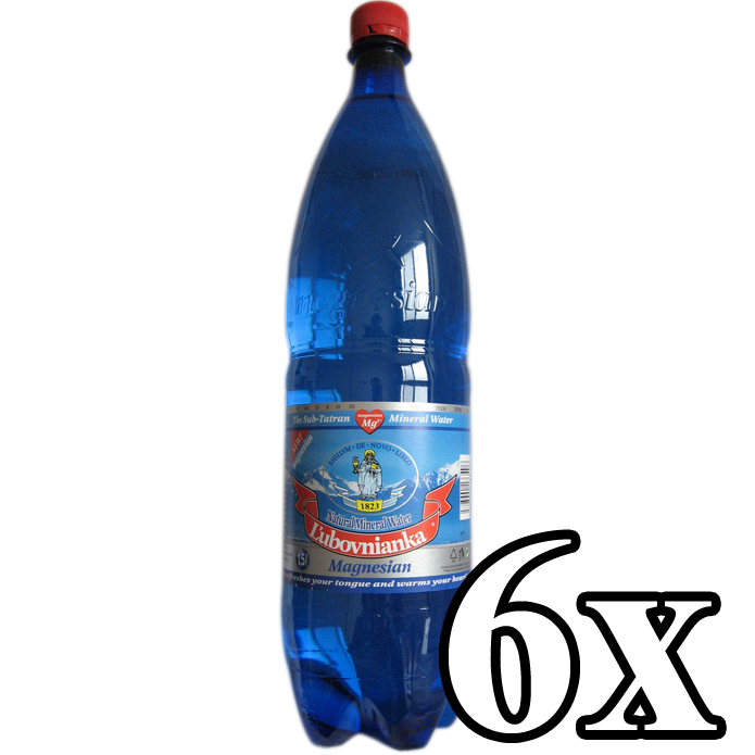 LUBOVNIANKA - Natural Mineral Water 6x