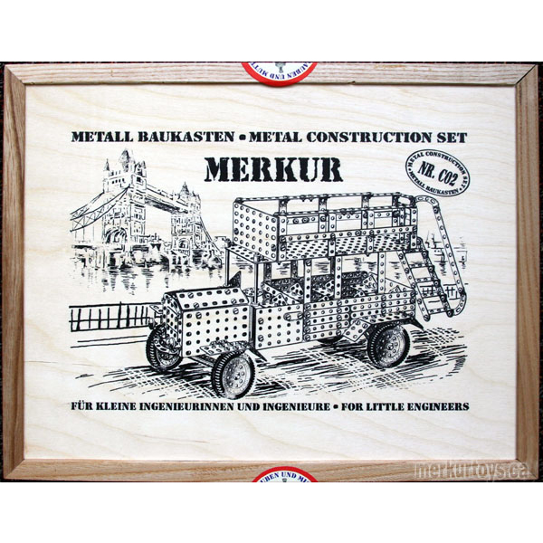 Merkur Classic 02 - Construction Toy