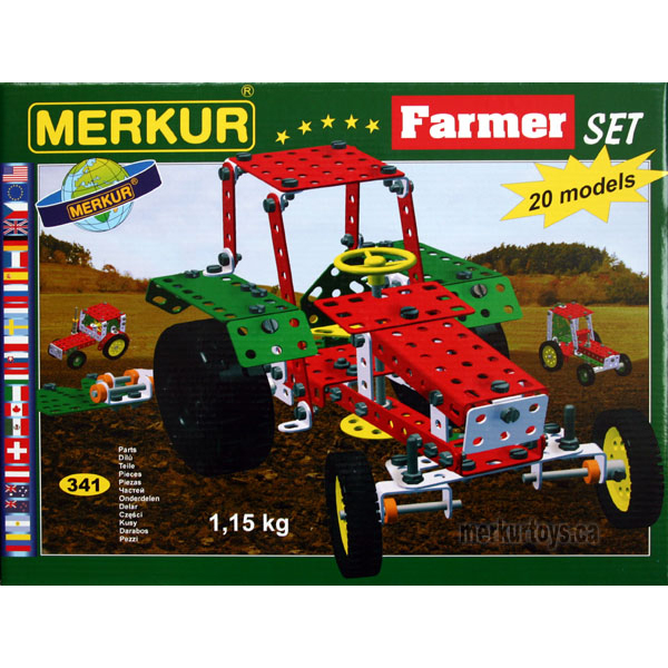 Merkur Farmer Set - Construction Toy