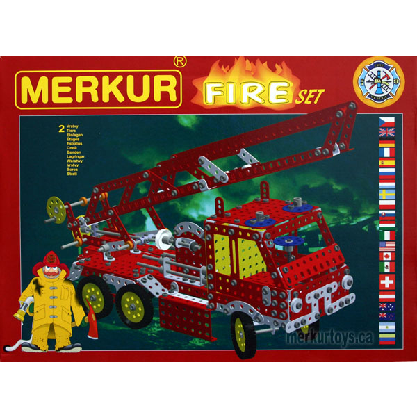 Merkur Fire Set - Construction Toy
