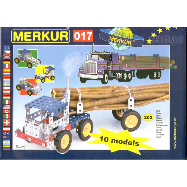 Merkur M 017 Truck Set - Construction Toy