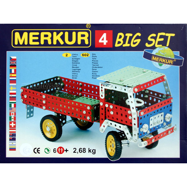 Merkur M4 - Construction Toy