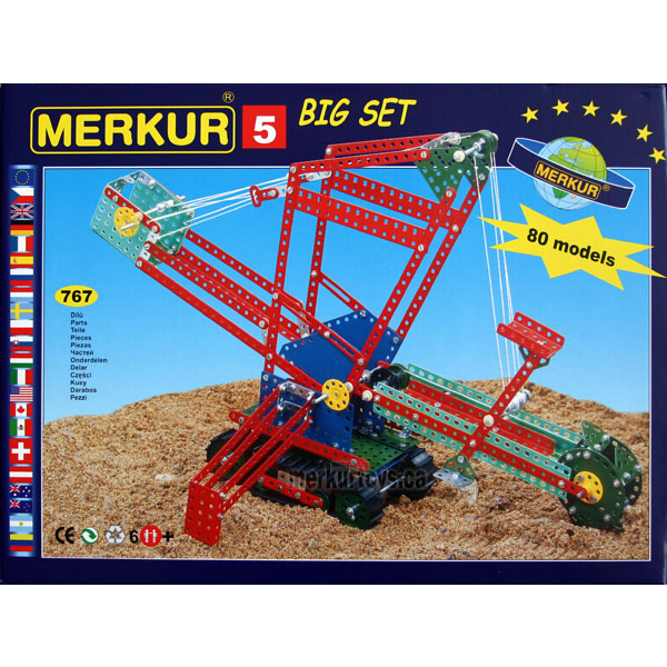 Merkur M5 - Construction Toy