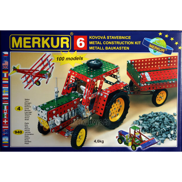 Merkur M6 - Construction Toy