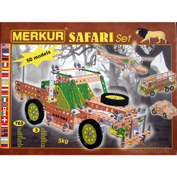 Merkur Safari Set - Construction Toy