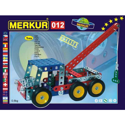 Merkur M 012 Service Truck Set - Construction Toy