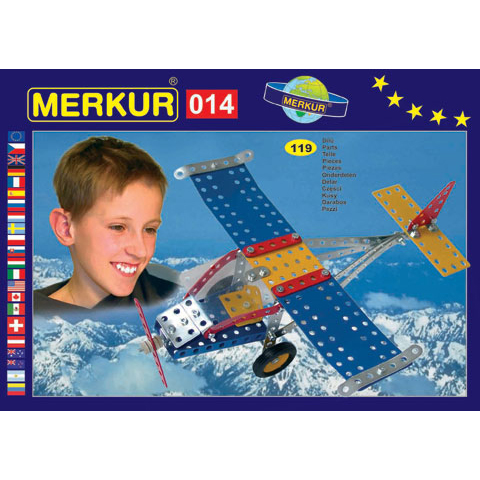 Merkur M 014 Aeroplane Set - Construction Toy