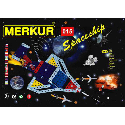 Merkur M 015 Spaceship Set - Construction Toy