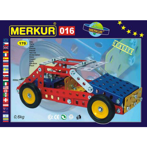 Merkur M 016 Buggy Set - Construction Toy