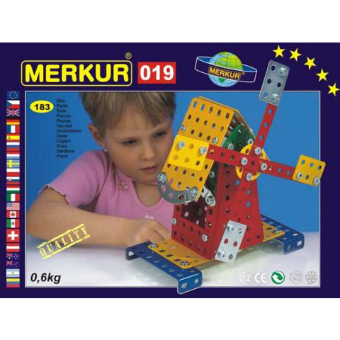 Merkur M 019 Windmill Set - Construction Toy