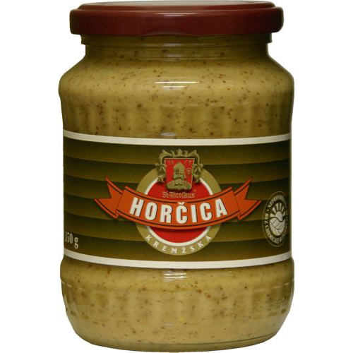 MUSTARD OLD FASHION 350g - Horcica Kremzska