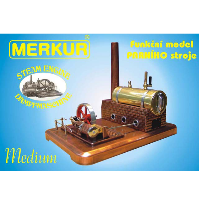 Merkur Steam Engine Medium