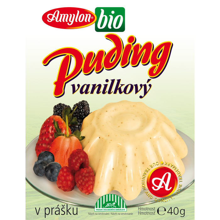 Pudding - Vanilla - Bio