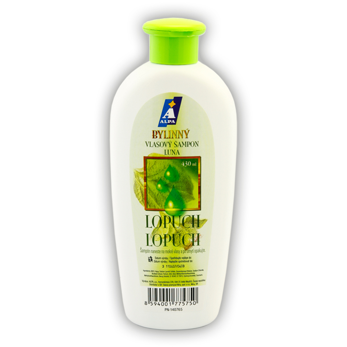 LUNA Burdock Herbal Shampoo