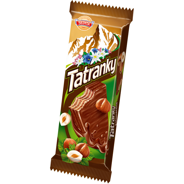 TATRANKY - Whole Coated Hazelnut Wafers